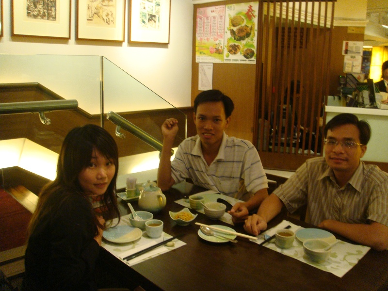 Have dinner with Eunice - Fascinations HK